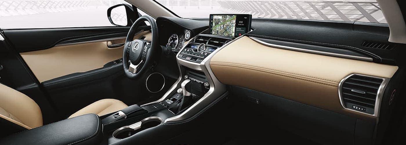 2020 Lexus NX Front Interior