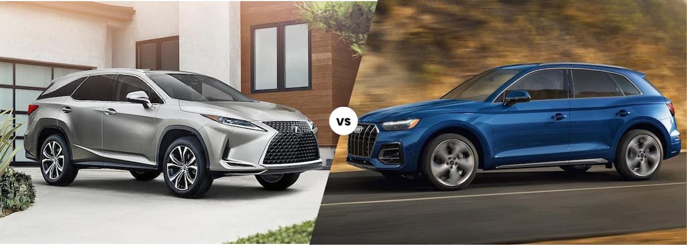 2021 Lexus RX vs. 2021 Audi Q5