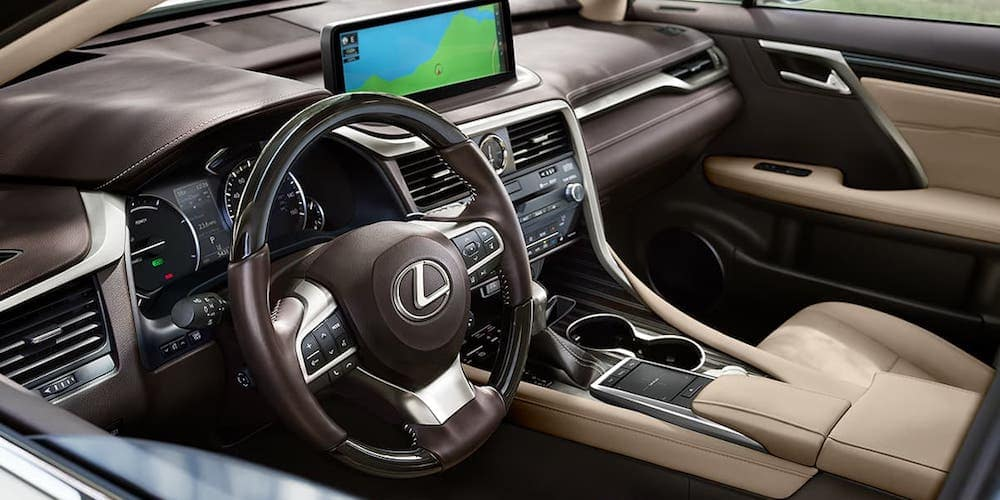 2020 Lexus RX Front Interior and Dash