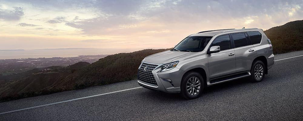 Silver 2020 Lexus GX 460 on Highway