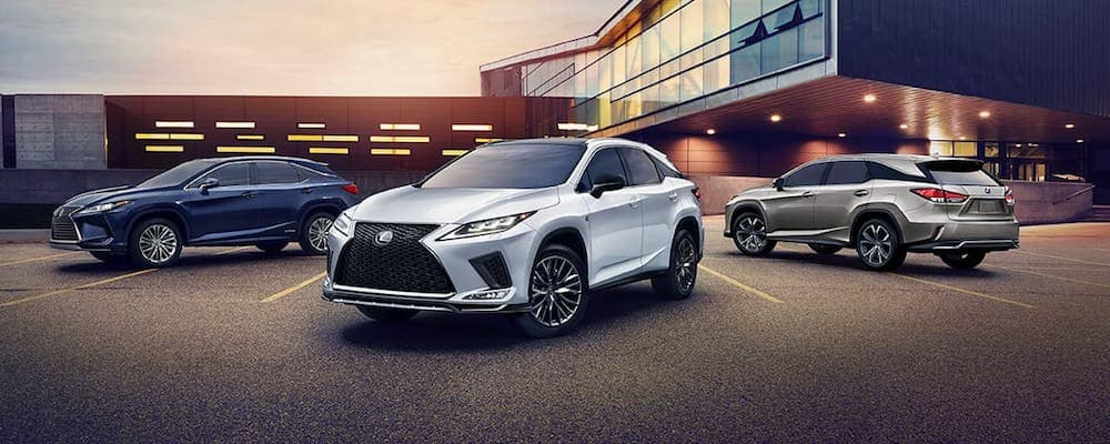 2020 Lexus RX Models on Display
