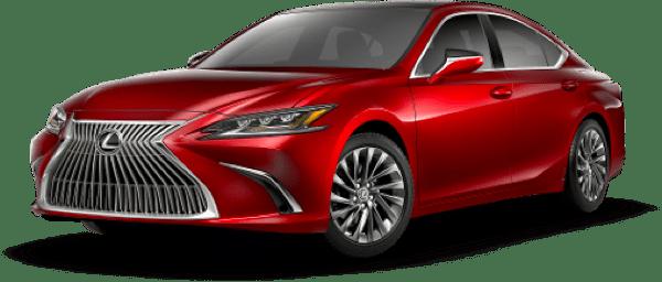 Lexus ES Matador Red Mica