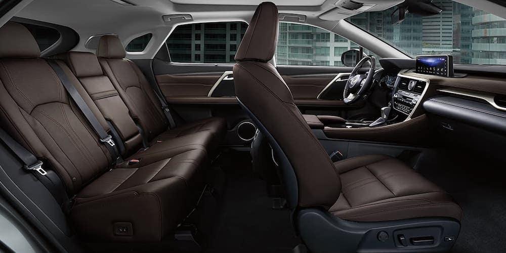 2020 Lexus RX Wide Interior View