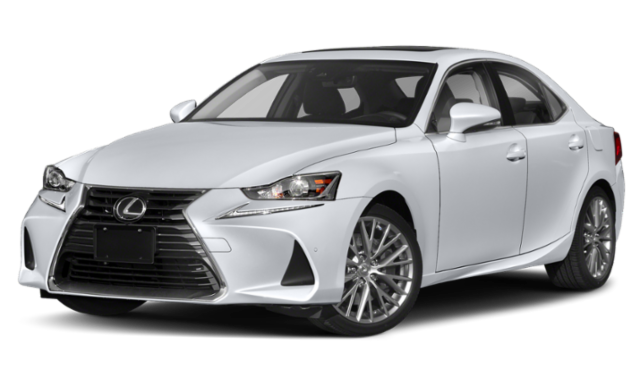 2019 White Lexus IS
