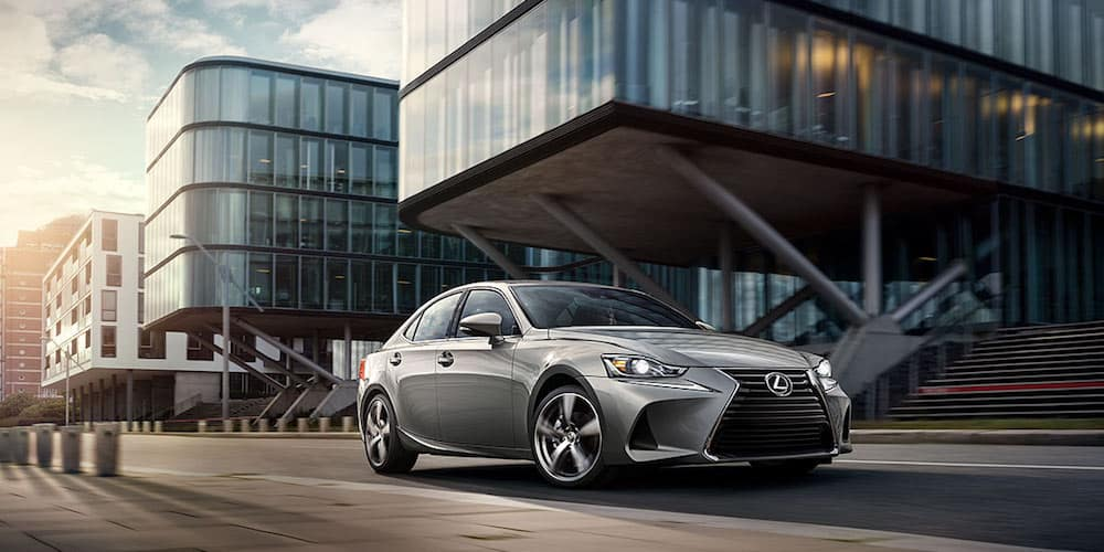 2020 Lexus IS on Open Road