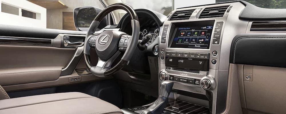 2020 Lexus GX Front Dash