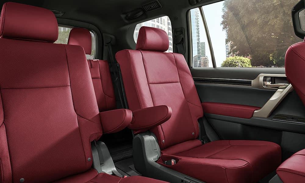 2020 Lexus GX Red Seats