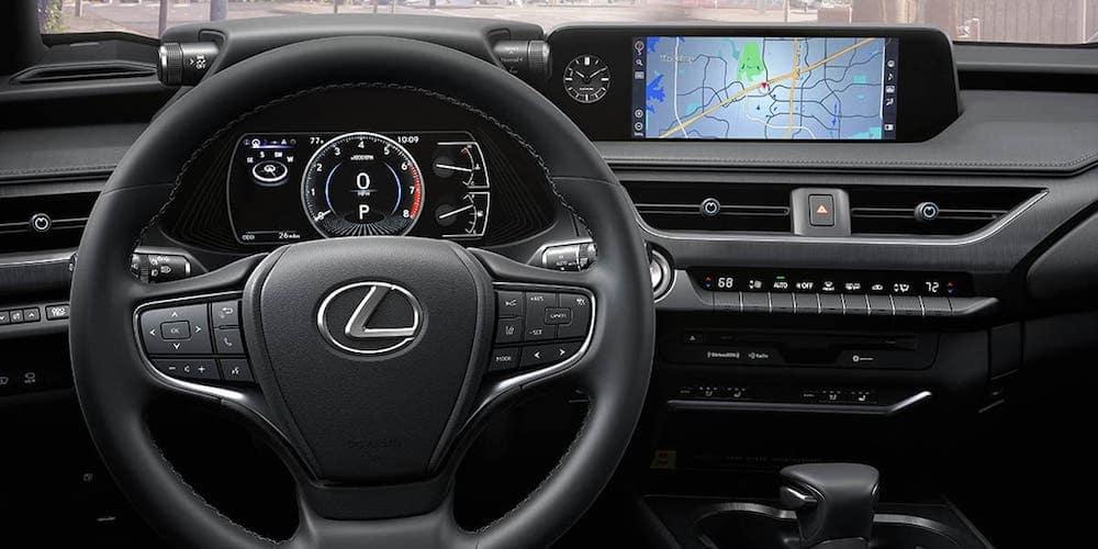 2020 Lexus UX Dashboard