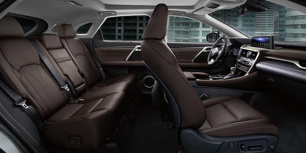2020 Lexus RX 350 Wide Interior View