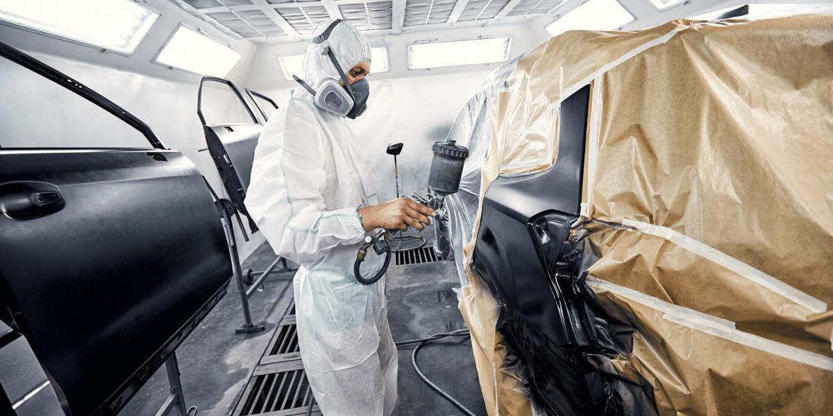 Auto paint services