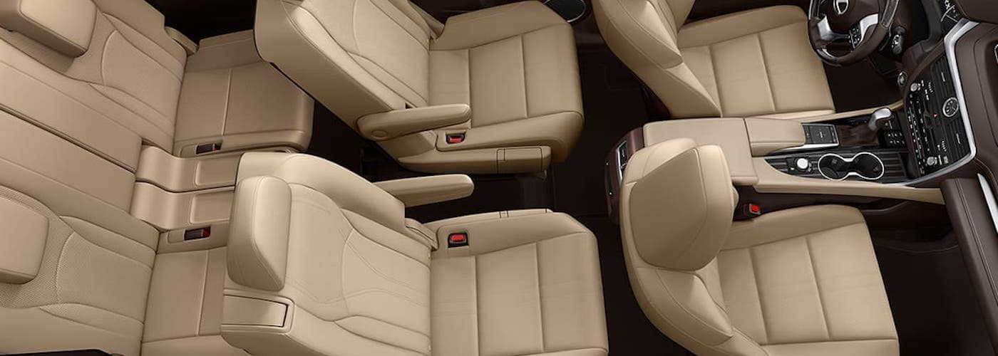 2020 Lexus RXL Interior View