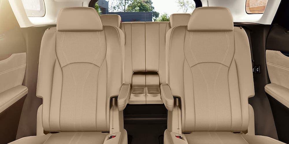 2020 Lexus RXL Rear Interior