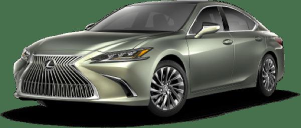 Lexus ES Sunlit Green