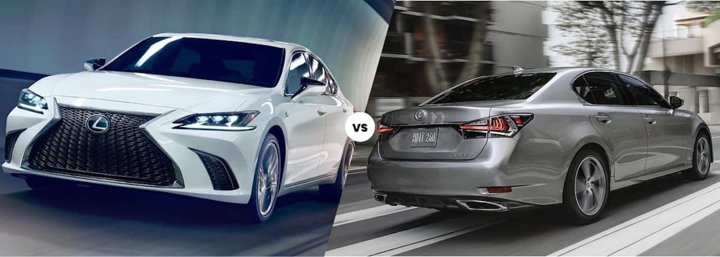 2021 Lexus ES vs. 2020 Lexus GS