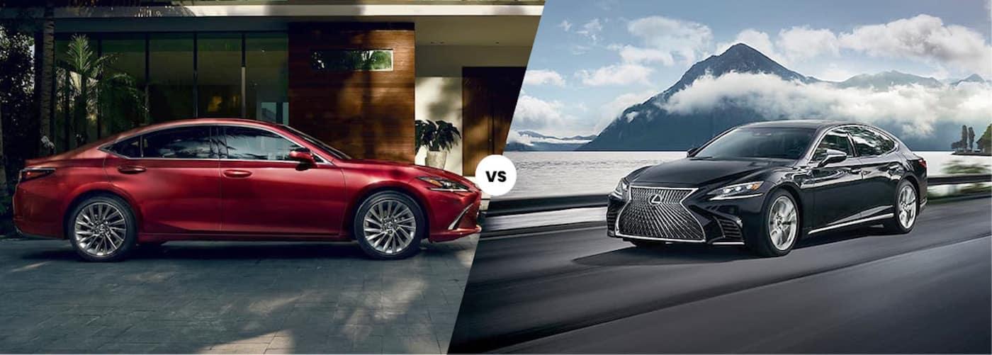 2021 Lexus ES vs. 2020 Lexus LS