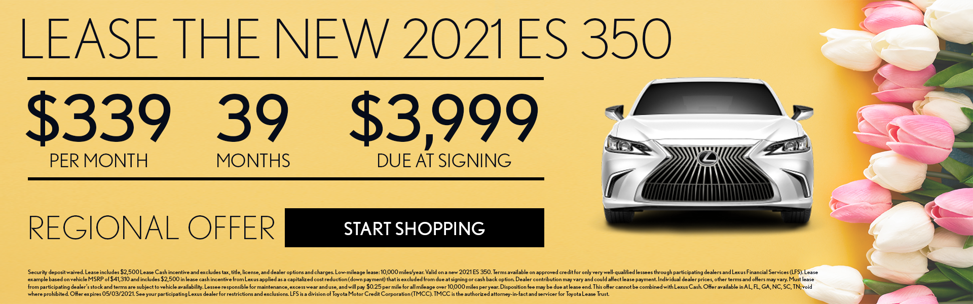 Lexus 2021 ES April Offer