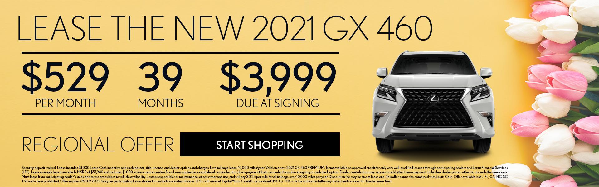 Lexus 2021 GX Offer