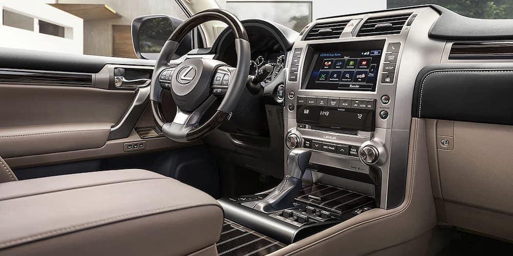 2020 Lexus GX Front Interior and Dash