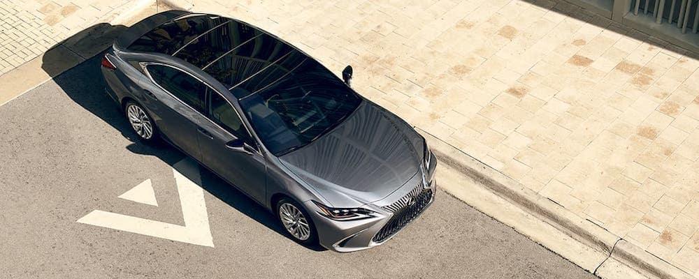 2020 Lexus ES 350 Overhead View