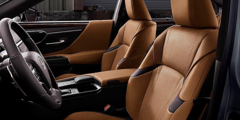 2020 Lexus ES Front Seats