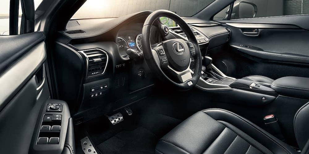 2020 Lexus NX Front Interior and Dash