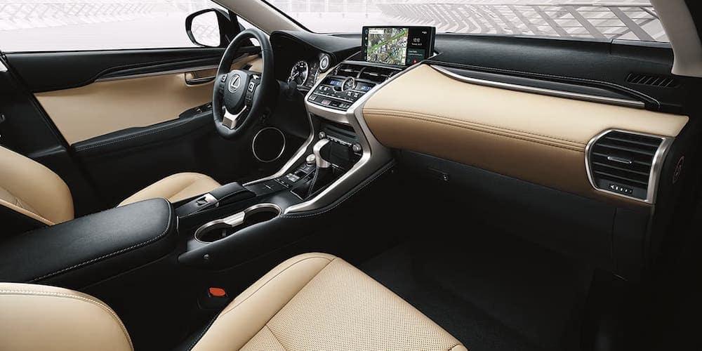 2020 Lexus Nx Interior Features Lexus Of Tampa Bay