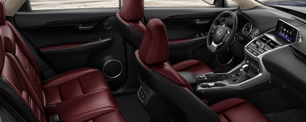 2020 Lexus NX Overheard Interior