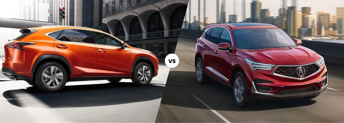 2021 Lexus NX vs. 2021 Acura RDX