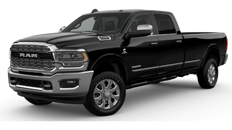 A silver 2019 Ram 2500 Limited
