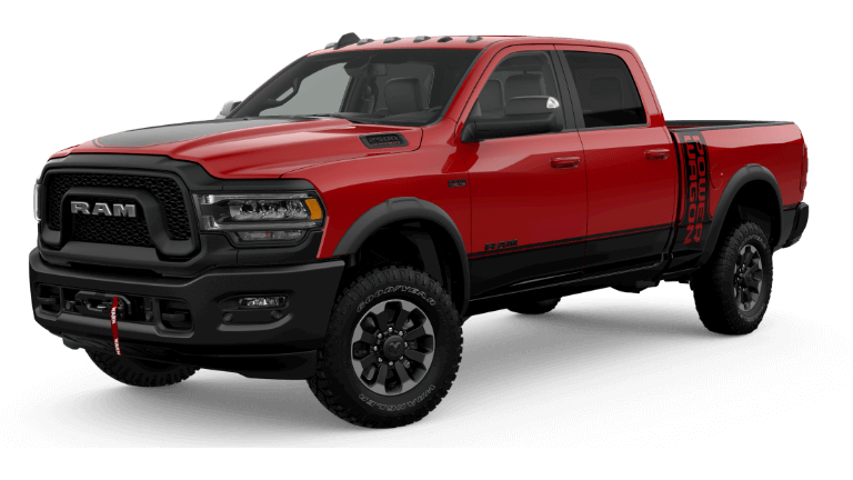 A red 2019 Ram 2500 Power Wagon