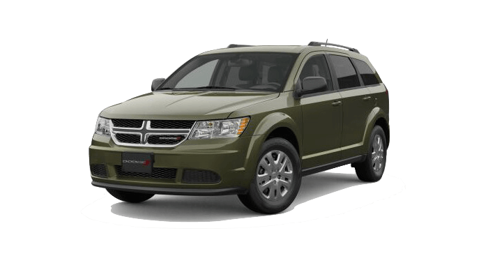 A green 2019 Dodge Journey