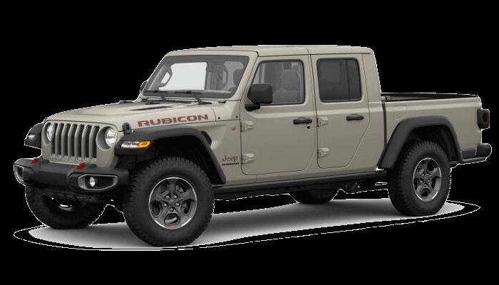 A tan 2019 Jeep Gladiator