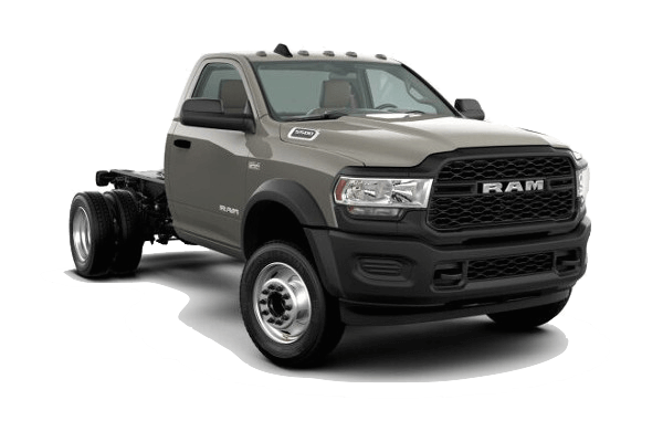 A tan 2020 Ram 5500 Chassis Cab