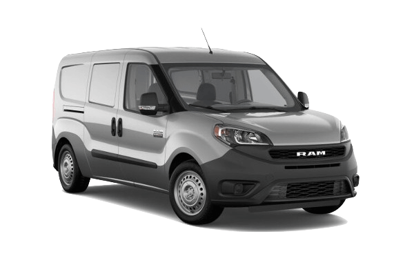 A gray 2020 Ram ProMaster City Tradesman