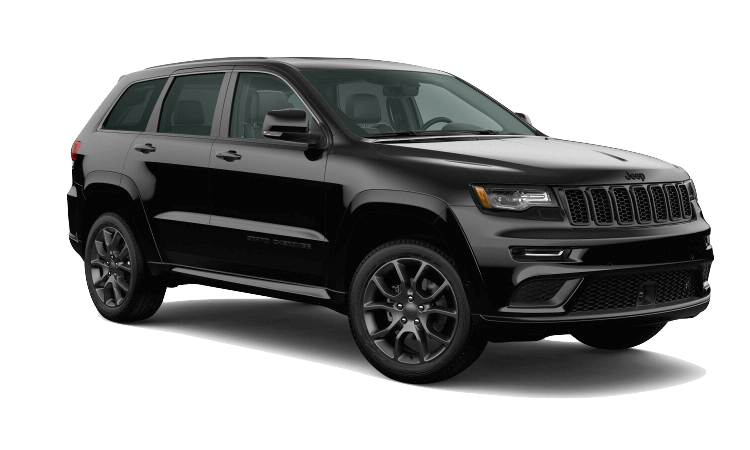 A black 2020 Jeep Grand Cherokee High Altitude