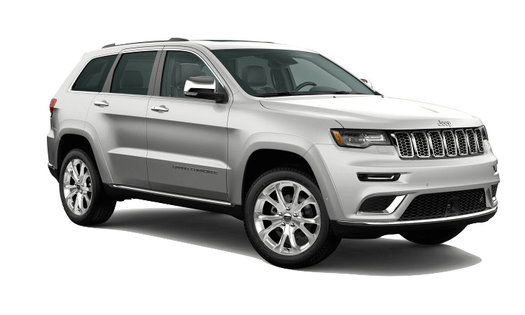A white 2020 Jeep Grand Cherokee Summit