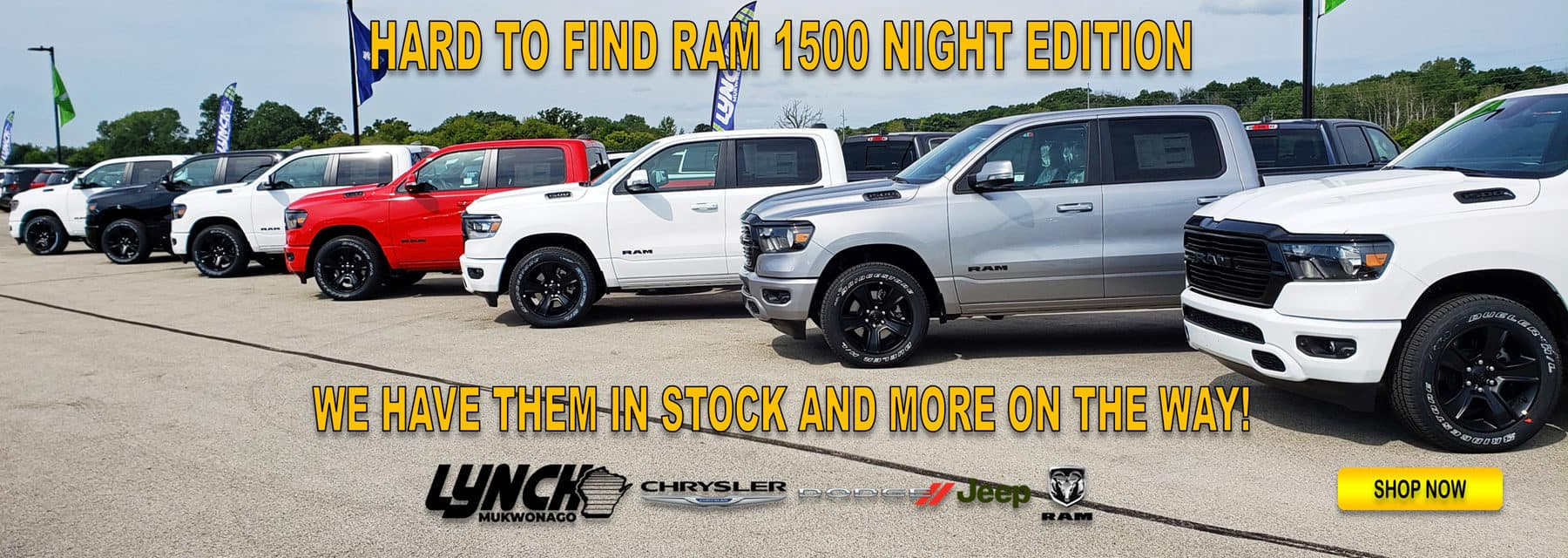 Ram Night Edition In Stock in Mukwonago WI