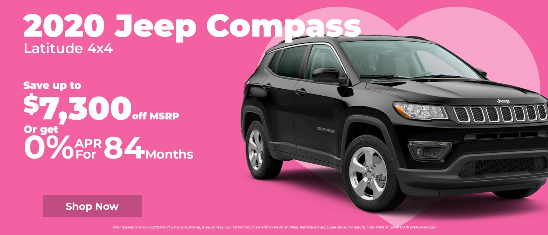 Save $7,000 on Jeep Compass in Mukwonago WI