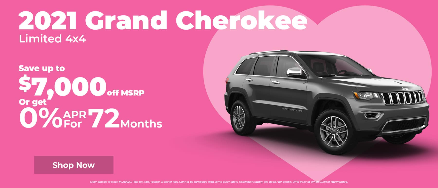 Save $7,000 on Jeep Grand Cherokee in Mukwonago WI