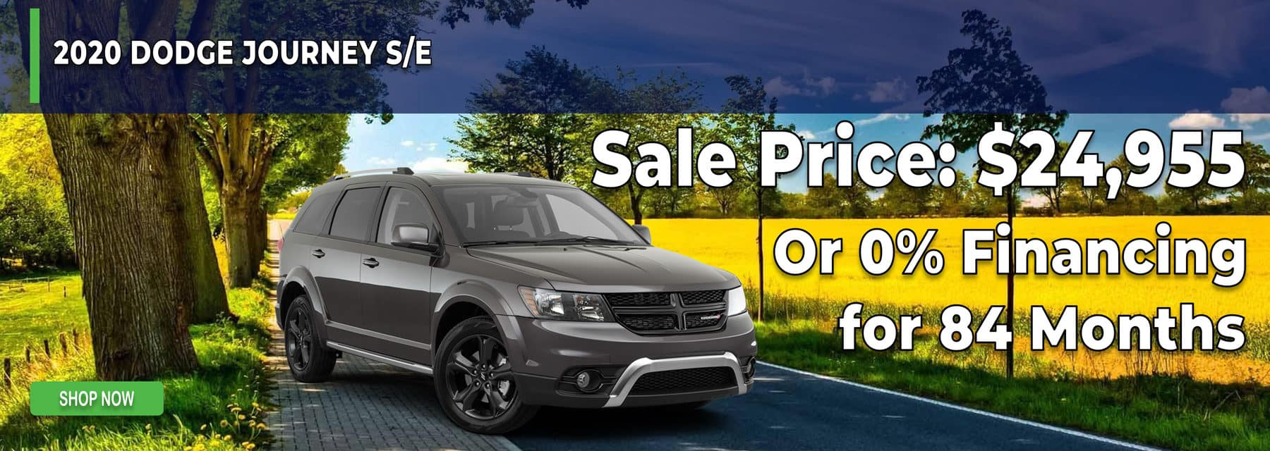 0% Financing for 84 months on Dodge Journey in Mukwonago Wisconsin
