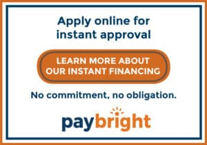 Finance Your Service for convenient easy payments.