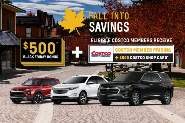 Costco Member Pricing + $500 Costco Shop Card + Limited Time $500 Black Friday Bonus