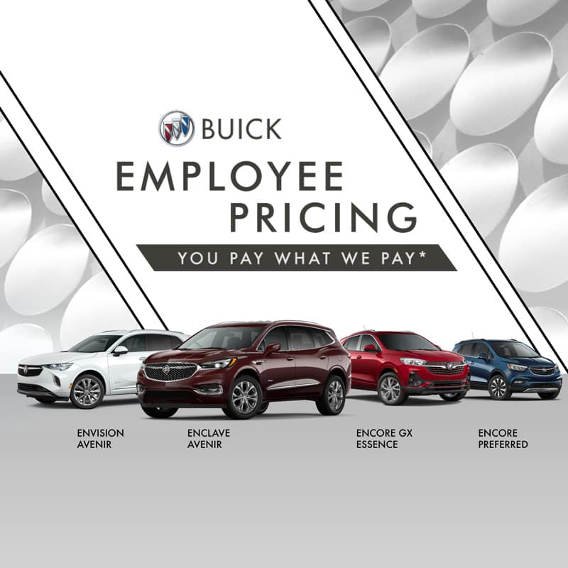 Buick Employee Pricing
