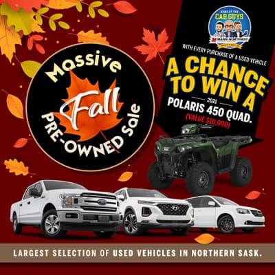 Massive Fall Pre-Owned Sale