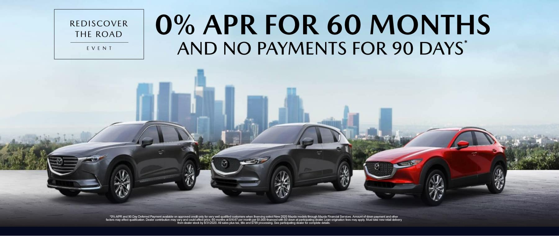 0% APR for 60 month and No Payments for 90 Days* - Click to View Inventory