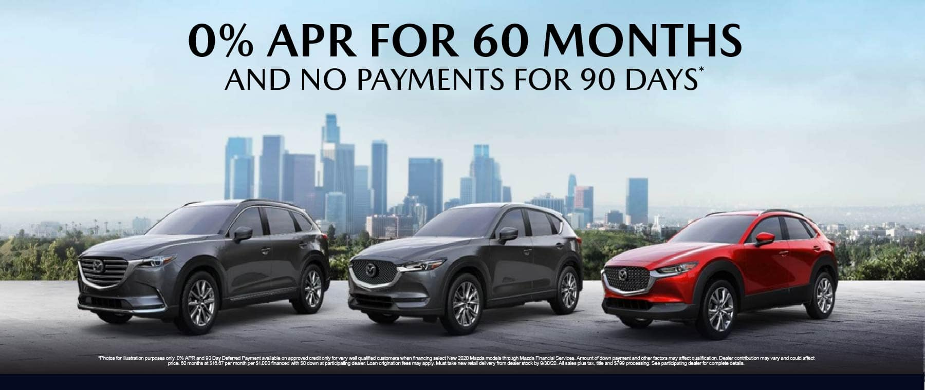 0% APR for 60 months - click here to view inventory
