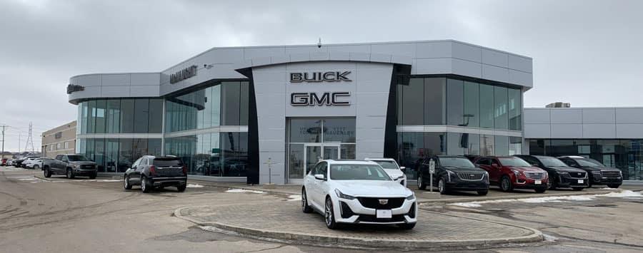 Visit McNaught Cadillac Buick GMC in Winnipeg