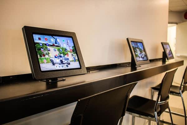 Lounge iPad Area
