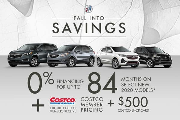 0% Financing For Up To 84 Months + $500 Costco Shop Card