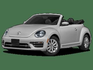 2019 VW Beetle Convertible angled